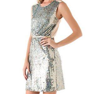 Erin Fetherston Sequin Sparkle Cocktail Dress NWT